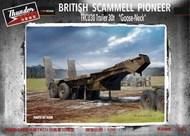 British Scammell Pioneer TRCU30 30-Ton Goose-Neck Trailer #TDM35208