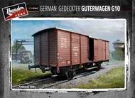Thunder Model  1/35 German G10 Guterwagen Boxcar WWII Era (New Tool) TDM35901