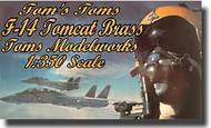 Toms Modelworks  1/350 F-14 TOMCAT DETAILS TRUMP 350 TMW3549