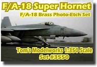 Toms Modelworks  1/350 F/A-18 Super Hornet Detail Set TMW3550