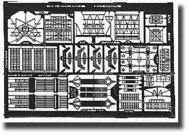 Toms Modelworks  1/500 USN Radars WW II TMW5008