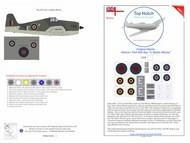 Top Notch  1/24 Grumman Hellcat I FAA 800 Sqn 'Lt Blythe Ritchie' TNM24-I008