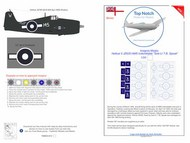 Top Notch  1/24 Grumman Hellcat II JZ935 HMS Indomitable 'Sub-Lt T.B Speak' TNM24-I012