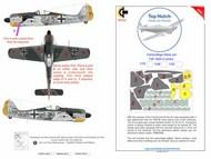 Focke-Wulf Fw.190A-5 series camouflage pattern paint mask #TNM48-M003