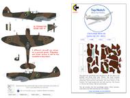 Supermarine Spitfire Mk.1a QV N3200 Mask #TNM48-M055A