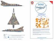 Dassault Mirage IIIC 'Djibouti' scheme boxed camouflage pattern paint mask #TNM48-M142