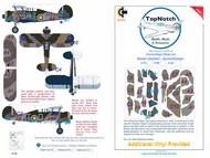 Gloster Desert Gladiator Mk.I/Mk.II camouflage pattern paint mask #TNM48-M179