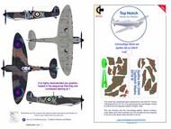 Supermarine Spitfire Mk.1a DW-K 1/48 camouflage pattern paint mask #TNM48-M59