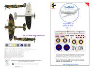 Supermarine Spitfire Mk.1a N3200 mask insignia packs #TNM48-S005