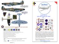 Supermarine Spitfire Mk.1a ZP-A (Malan) mask insignia packs #TNM48-S007