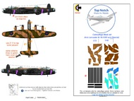 TopNotch  1/72 Avro Lancaster B.I/III and Dambuster (Special) TNM72-M090