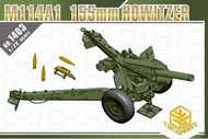 TOXSO MODEL  1/72 M114A1 155mm Howitzer Gun- Net Pricing TOX1403