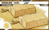TOXSO MODEL  1/72 Modern Tent (2) w/Heater/AC Unit TOX1406
