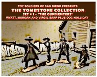 Tombstone Set 1: The Gunfighters Figure Playset (4) #TSR21