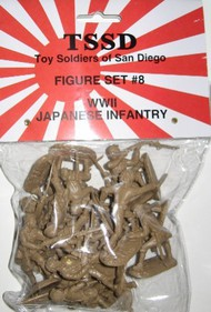 WWII Japanese Infantry Figure Playset (16) #TSR8