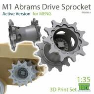 M1 Abrams Sprocket Set [Active Version] (MNG kit)* #TRXTR35003-1