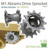 M1 Abrams Sprocket Set [Active Version] (TAM kit)* #TRXTR35003-4