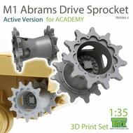 M1 Abrams Sprocket Set [Active Version] (ACA kit)* #TRXTR35003-5