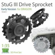 Stug.III Sprocket Early Version (DRA kit)* #TRXTR35007-1