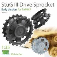 Stug.III Sprocket Early Version (TAM kit)* #TRXTR35007-2
