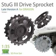 Stug.III Sprocket Late Version A (DRA kit)* #TRXTR35008-1