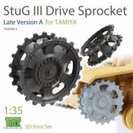 Stug.III Sprocket Late Version A (TAM kit)* #TRXTR35008-2