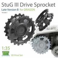 Stug.III Sprocket Late Version B (DRA kit)* #TRXTR35009-1