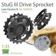 Stug.III Sprocket Late Version B (TAM kit)* #TRXTR35009-2