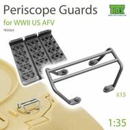 Periscope Guards for WW2 US AFVs* #TRXTR35024