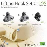 Lifting Hook Set C for WW2 German Panzer* #TRXTR35028