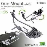 Machine Gun Mount Set for WW2 German Panzer Cupola* #TRXTR35030