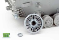 Disassembled Panzer PzKpfw IV Idler Wheel Cast Version* #TRXTR35039