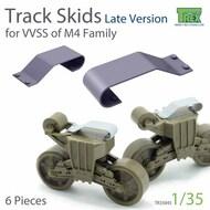 Track Skids Set (Late Version) for M4 Sherman Family* #TRXTR35045