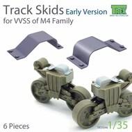 Track Skids Set (Early Version) for M4 Sherman Family* #TRXTR35046