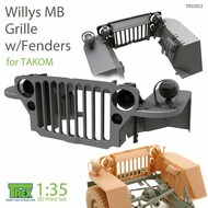 Grille with Fenders for Willys MB (TAK kit)* #TRXTR35053
