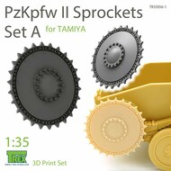 Panzer PzKpfw II Sprocket Set A (TAM kit)* #TRXTR35056-1