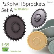 Panzer PzKpfw II Sprocket Set A (DRA kit)* #TRXTR35056-2