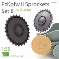 Panzer PzKpfw II Sprocket Set B (DRA kit)* #TRXTR35057-2