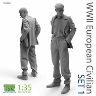 WW2 European Civilian Figure Set 1* #TRXTR53001