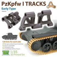 Track Link Set - Panzer PzKpfw I Early Type* #TRXTR85001