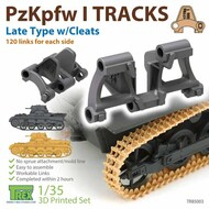 Track Link Set - Panzer PzKpfw I Late Type with Cleats* #TRXTR85003
