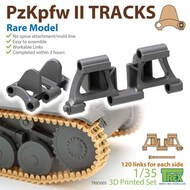 Track Link Set - Panzer PzKpfw II Rare Model* #TRXTR85005