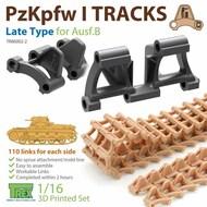 Track Link Set - Panzer PzKpfw I Aust.B Late Type* #TRXTR86002-2