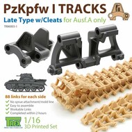 Track Link Set - Panzer Pz.Kpfw I Ausf.A Late Type with Cleats* #TRXTR86003-1