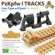 Track Link Set - Panzer PzKpfw I Ausf.B Late Type with Cleats* #TRXTR86003-2