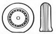 Macchi C.200 and Fiat G.50 Wheel Set #TD48031