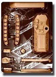 Trumpeter Models  1/144 USMC Amphibious Armor AAVP-7A1 TSM103