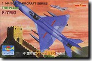 Trumpeter Models  1/144 Chengdu F-7MG Chinese Fighter - Pre-Order Item TSM1327