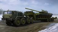 MAZ537G Late Production Soviet Tank Transporter w/ChMZAP9990 Semi-Trailer (New Variant) (NOV) #TSM1065