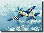 "Trumpeter Models  1/72 Hawker ""Sea Fury"" FB.11 Fighter TSM1631"